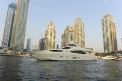 Яхта в ОАЭ