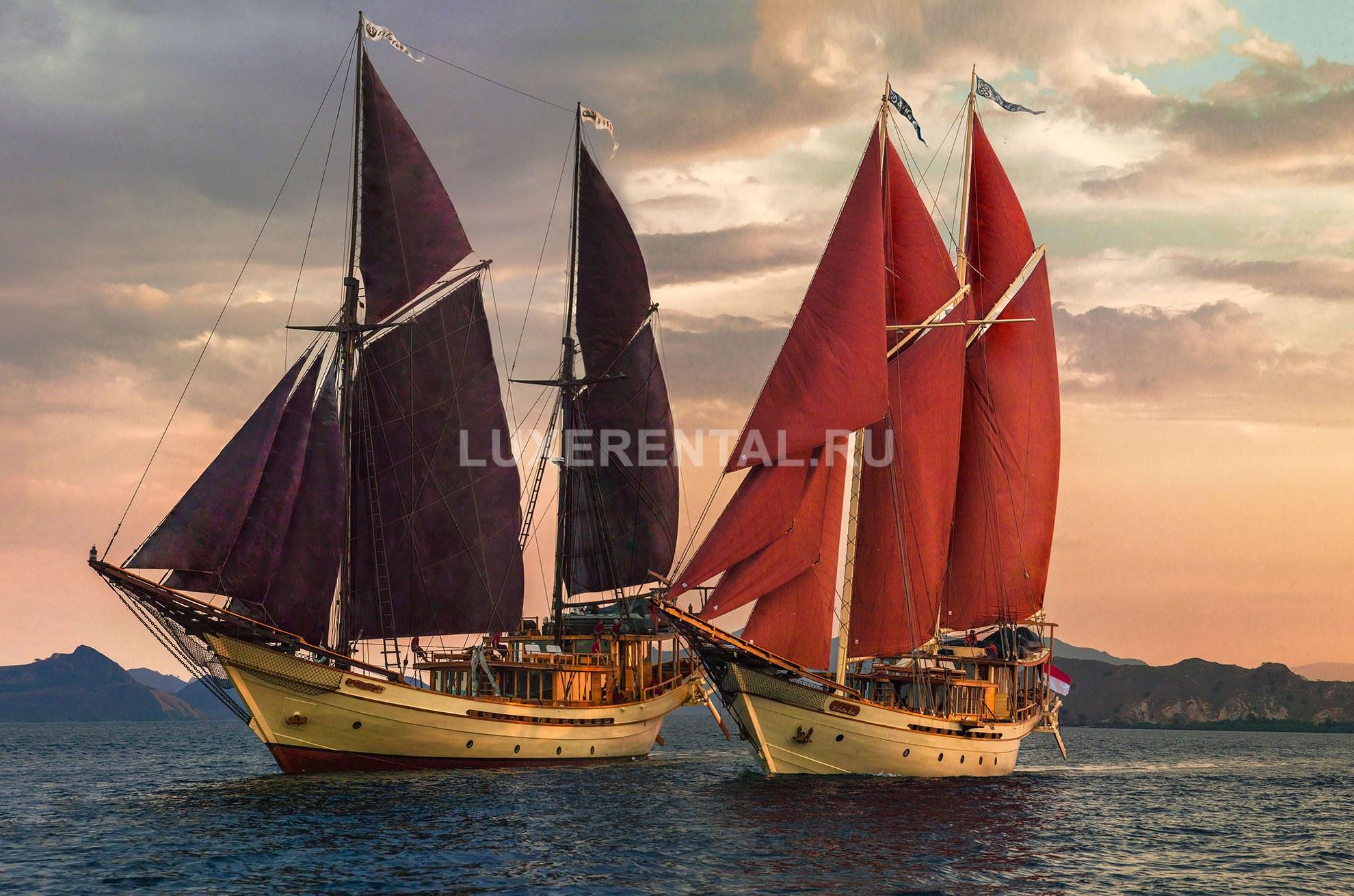 Яхта в Индонезии